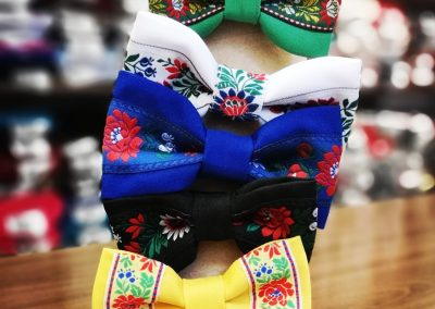 Textil Dúha - pánske a detské ľudové motýliky
