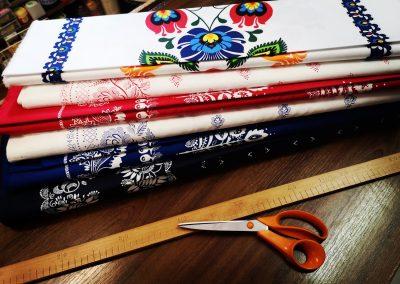 Textil Dúha - folklórne látky