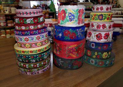 Textil Dúha - folklórne stuhy a krojovky