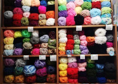 Textil Dúha - vlna a priadza